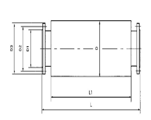 YX型空压机配套消声器