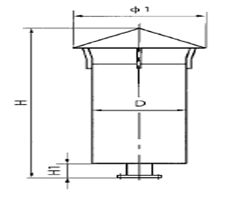 NP型氮气放散消声器