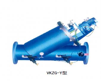 KZG-Y, KZG-L-Ⅰ(Ⅱ)型刷式自清洗过滤器