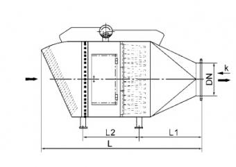 KGⅡ型 _吸风空气过滤器
