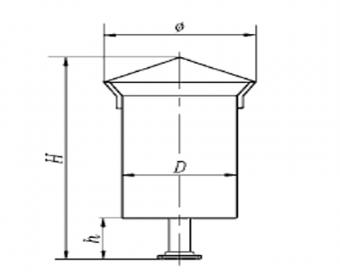 SQS型蒸汽排汽消声器