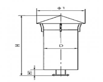 AP型压缩空气排放消声器