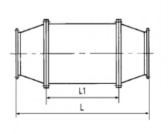 FX型烧结机配套风机消声器