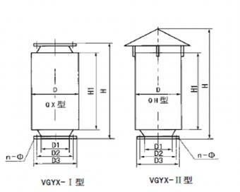 GYX型高压离心风机消声器