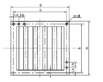 ZDL型中低压离心风机消声器