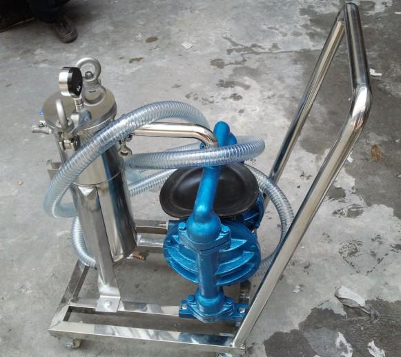 泵用过滤器已广泛用于石油,化工,污水处理等工程项目中.